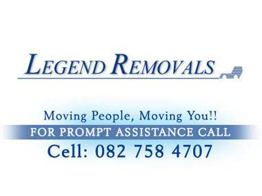 Legend Removals - Legend Removals is based in Pretoria, established in 2008 and has been providing the service of furniture and office removals across Southern Africa as well as neighbouring countries.